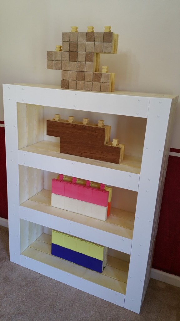 Zipblocks - Applications - Small Shelf - With Trim - Diagonal View