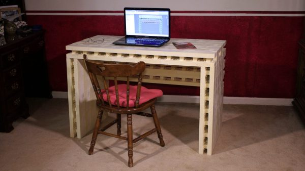 ugly unfinished modular desk